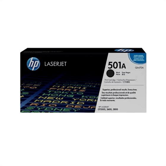 Originalni toner HP Q6470A Bk 3600/3800