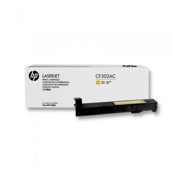 HP CF302AC / 827A Yellow original toner