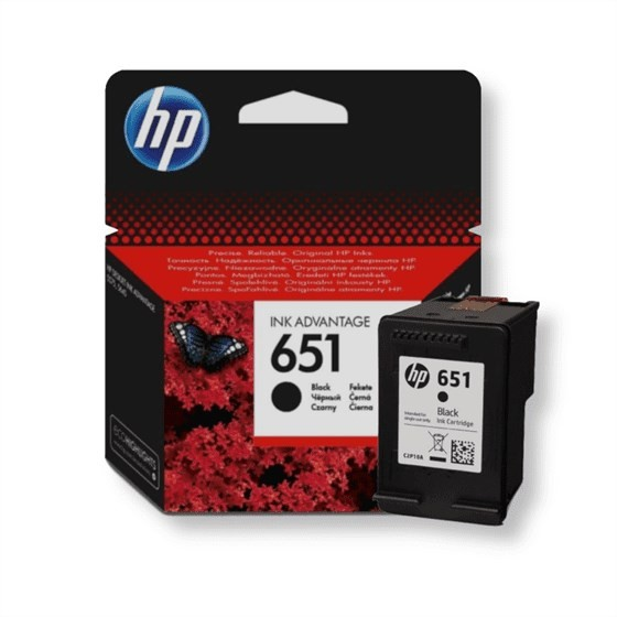 Originalna tinta HP C2P10EA No.651 Bk