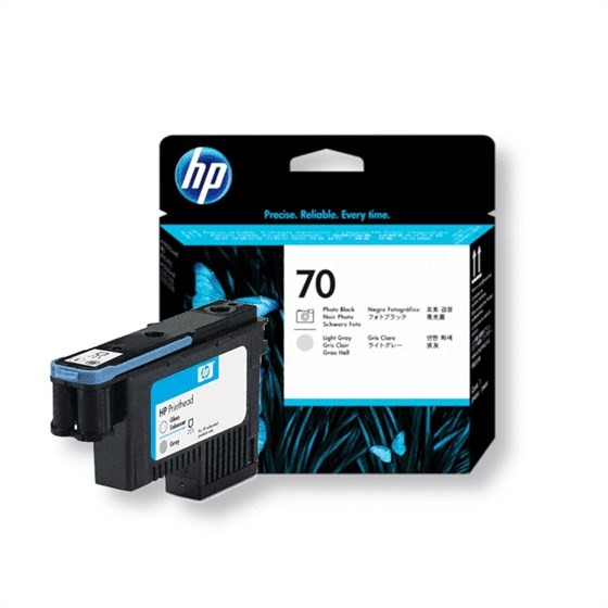Originalna tinta HP C9407A Print 70 Foto Black, Lt Grey