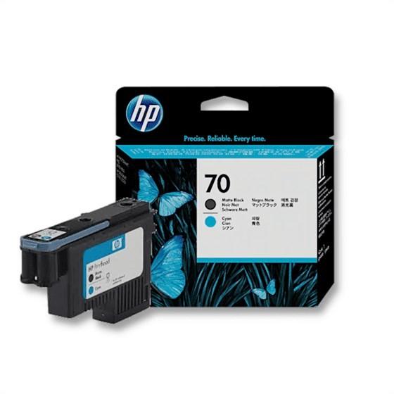 Originalna tinta HP C9404A Print 70 Mat Black, Cyan