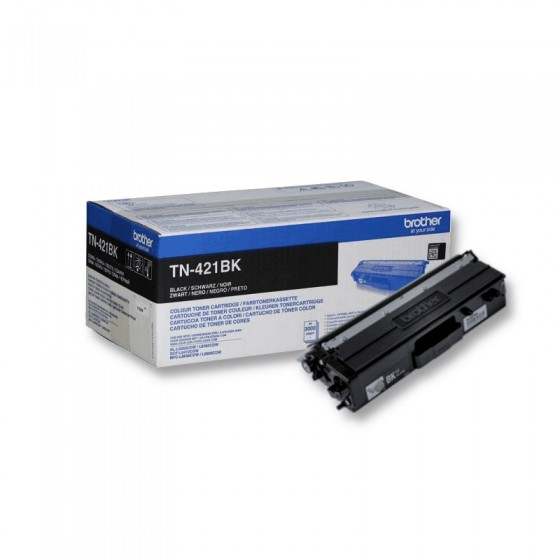 Originalni toner Brother TN421 Bk 3k