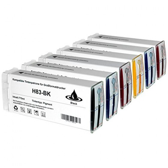 Originalna tinta HP C4940A Bk 680ml UV No.83
