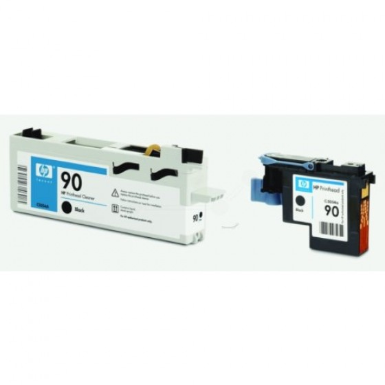 Originalna tinta HP C5054A Bk printhead and cle
