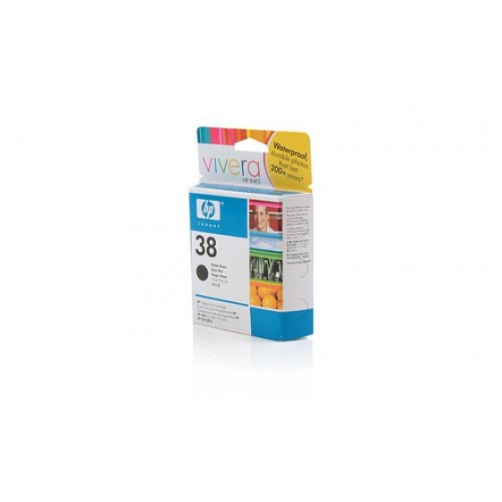 Originalna tinta HP C9412A Matte Bk 27ml No.38