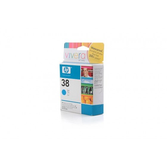 Originalna tinta HP C9415A C 27 ml No.38