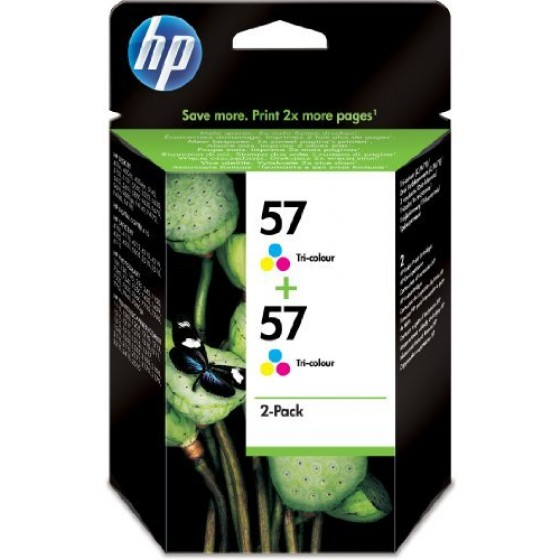 Originalna tinta HP C9503AE No.57 2x17ml color