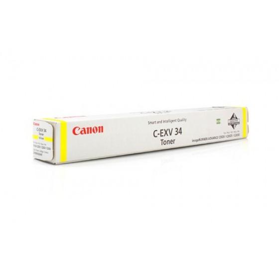 Originalni toner Canon CEXV34 Y