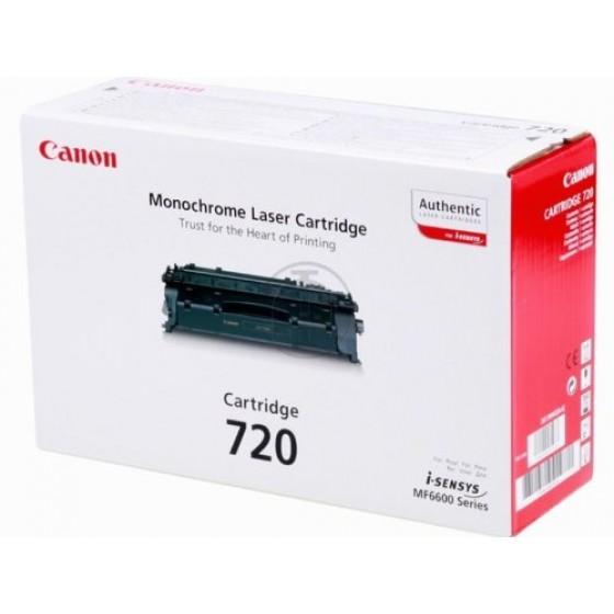 Originalni toner Canon CRG720 Bk