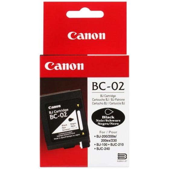 Originalna tinta Canon BC02/BX2 Bk 27ml