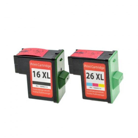 Originalna tinta Lexmark 10N0026E No.26 color