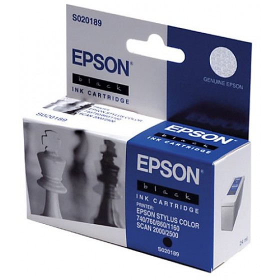 Originalna tinta Epson S020189 Bk 24ml