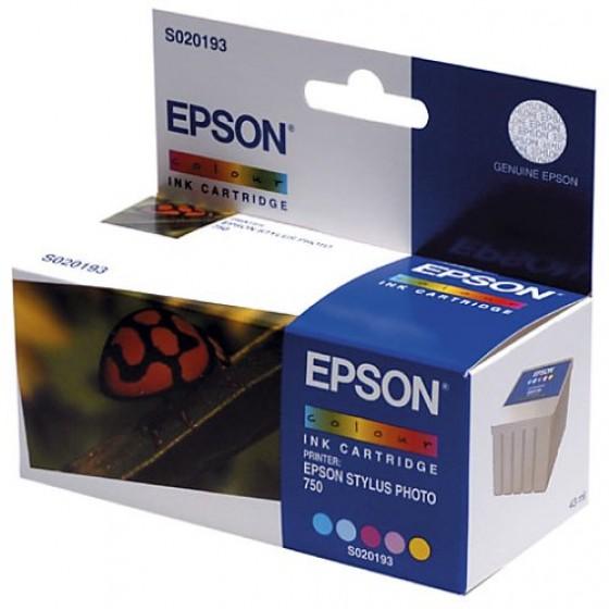 Originalna tinta Epson S020193 color 43ml