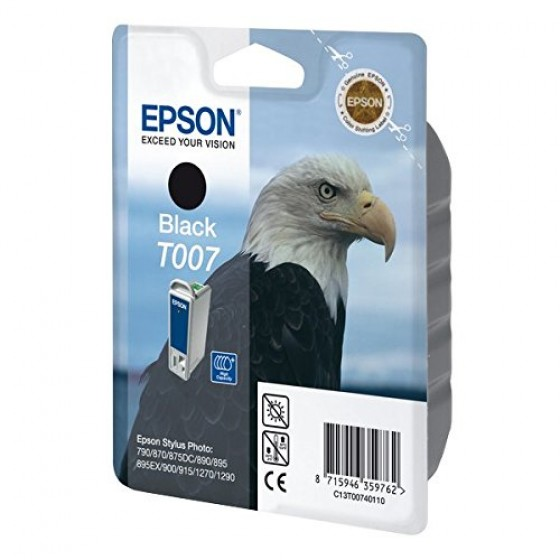 Originalna tinta Epson T007 Bk 16ml