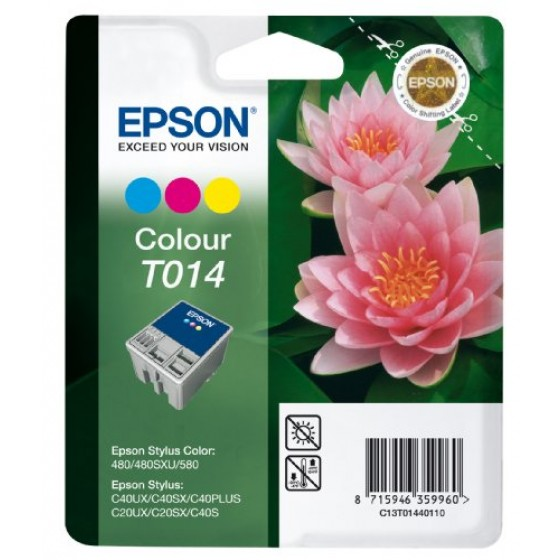 Originalna tinta Epson T014 color 25ml