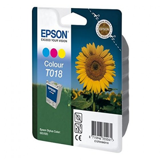 Originalna tinta Epson T018 color 37ml