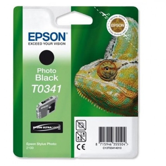 Originalna tinta Epson T0341 photo Bk 17ml