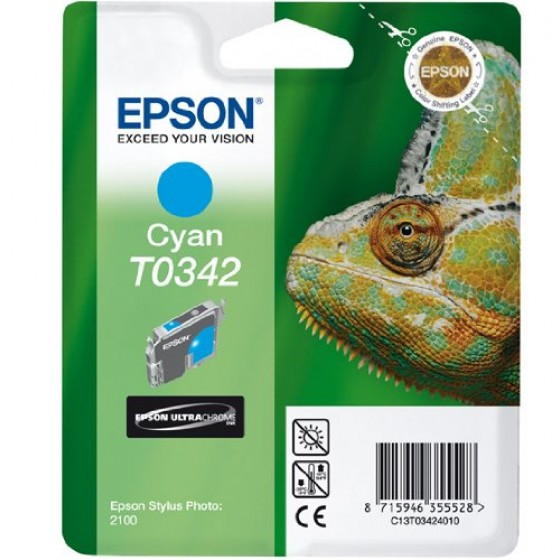 Originalna tinta Epson T0342 C 17ml