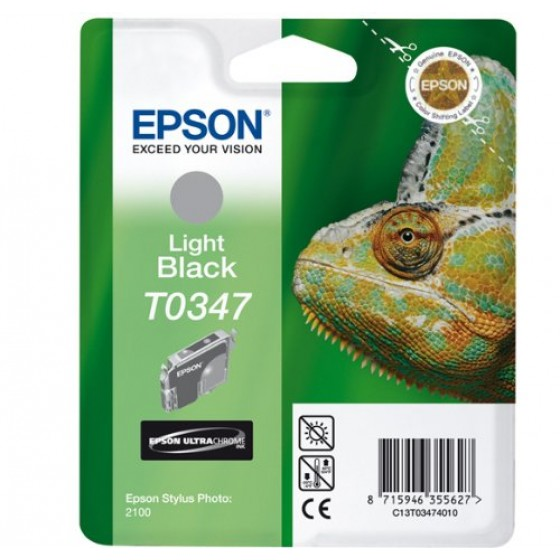 Originalna tinta Epson T0347 Bk light 17ml