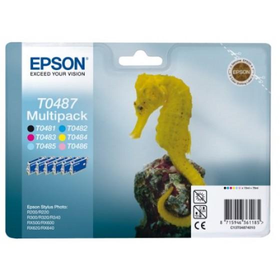 Originalna tinta Epson T0487 multipack