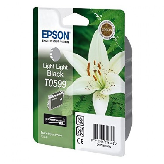 Originalna tinta Epson T0599 light light Bk