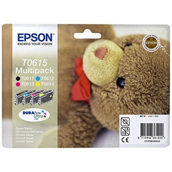 Originalna tinta Epson T0615 multipack