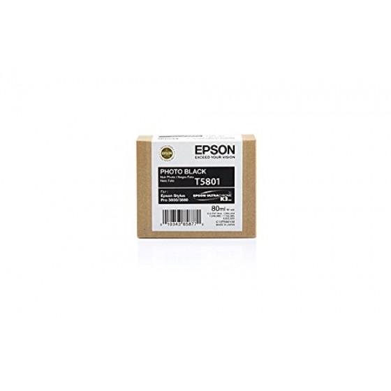 Originalna tinta Epson T5801 photo Bk