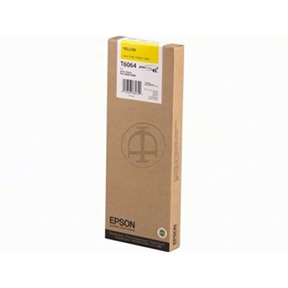 Originalna tinta Epson T606400 Y 220ml