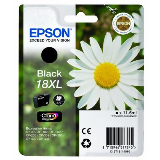Originalna tinta Epson T1811 Bk 18XL