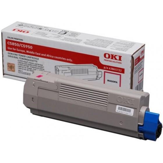 Originalni toner Oki C5850/5950 Bk
