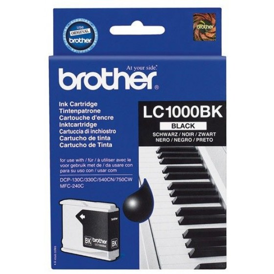 Originalna tinta Brother LC1000 Bk