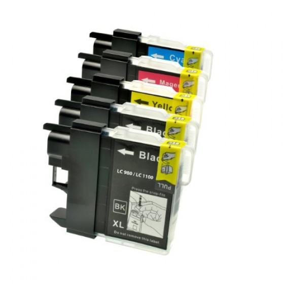 Originalna tinta Brother LC1100 Value pack