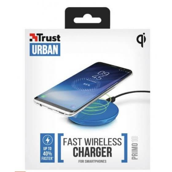 Trust Primo wireless charger for smartphones blue