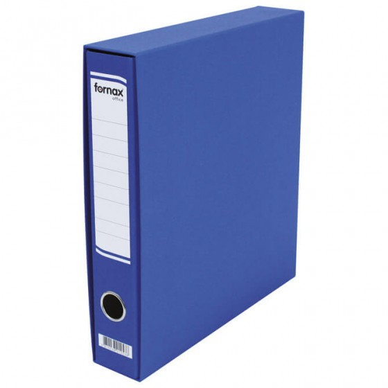REGISTRATOR A4 uski u kutiji Office Fornax plavi