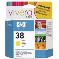 Originalna tinta HP C9417A Y 27ml No.38