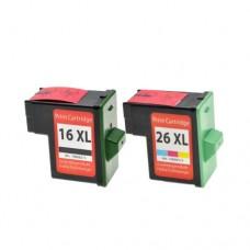 Originalna tinta Lexmark 10N0026E No.26 color