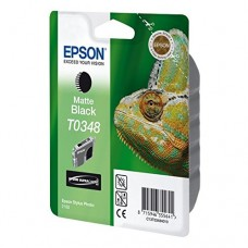 Originalna tinta Epson T0348 Bk matte 17ml