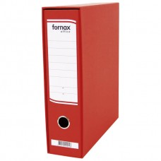 REGISTRATOR A4 široki u kutiji Office Fornax crveni