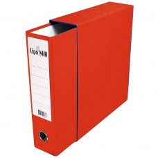 REGISTRATOR A4 široki u kutiji Lipa Mill crveni