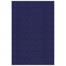 Papir krep 180g 50x250cm Cartotecnica Rossi 555 indigo plavi