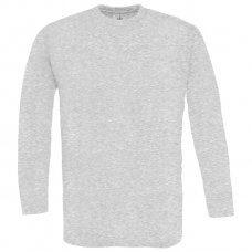 Majica dugi rukavi B&C Exact 150g LSL pepeljasto siva M