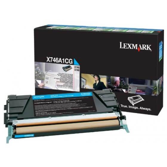 Originalni toner Lexmark X746/ X748 C