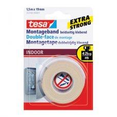 Traka ljepljiva obostrana 19mm/1,5m spužvasta Indoor Tesa blister