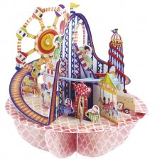 Čestitka Fair Ground 3D Pop Up Pirouettes