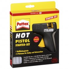 Ljepilo pištolj na patrone+6patrona Pattex Henkel blister