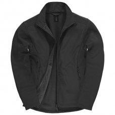 Jakna zip muška B&C ID.701 Softshell crna 3XL