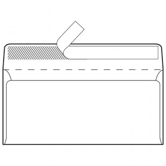 Kuverte ABT strip 80g pk1000 Fornax