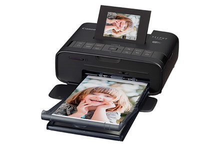 •	 Canon Selphy CP1200 Wireless Compact Photo Printer